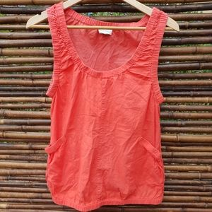 Witchery Sleeveless Cotton Top Size 12